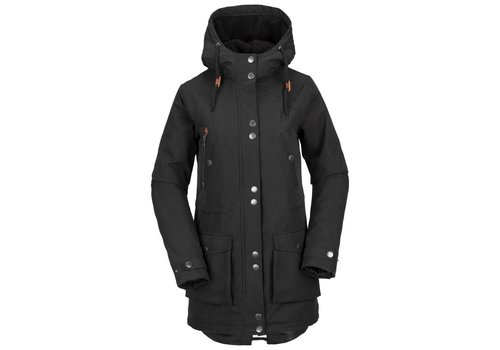 VOLCOM VOLCOM WALK ON BY PARKA BLACK-BLK (001)