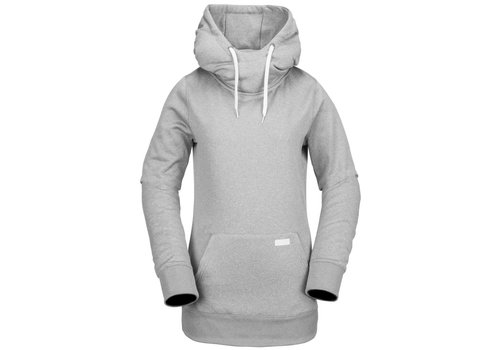 VOLCOM VOLCOM YERBA P/OVER FLEECE HEATHER GREY-HGR (035)