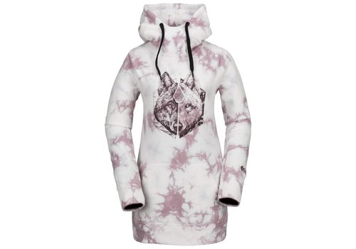 VOLCOM VOLCOM COSTUS P/OVER FLEECE PINK-PNK (650)