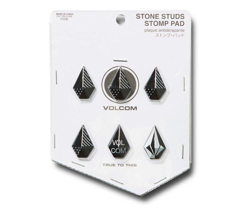 VOLCOM STONE STUDS STOMP BLACK-BLK (001)   EA