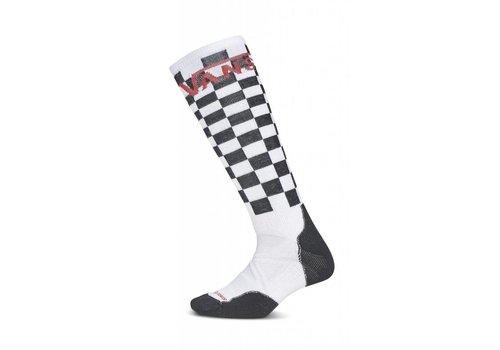 VANS VANS PHD MEDIUM SNOW SOCK (HU0) BLACK-WHITE CHECK