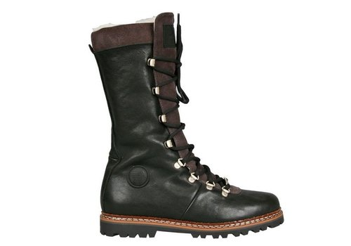 AMMANN AMMANN MALIX BLACK LEATHER & GREY SUEDE