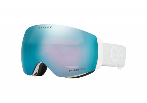OAKLEY OAKLEY FLIGHT DECK XM FACTORY PILOT WHITEOUT W/PRIZM SAPPHIRE IRIDIUM