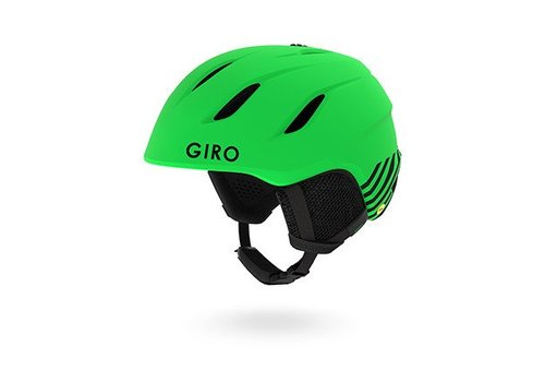 GIRO GIRO NINE JR MATTE BRIGHT GREEN ZOMBIE