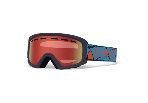 GIRO GIRO REV BLUE ROCK (NO BOX) WITH AMBR SCLT LENS