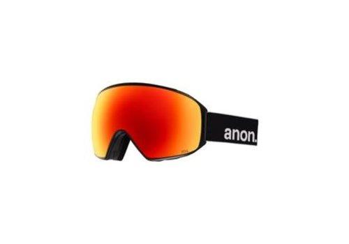 ANON ANON M4 TORIC BLACK/SONARRED    NA