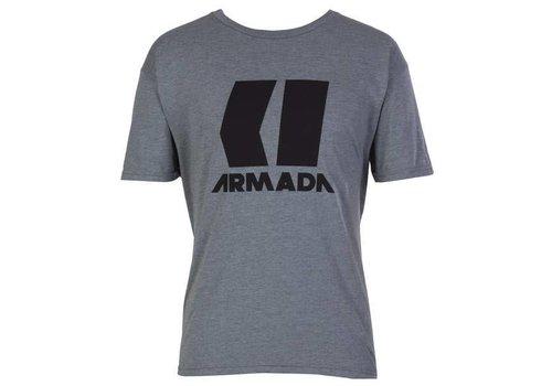 ARMADA ARMADA ICON TEE-HEATHER GREY