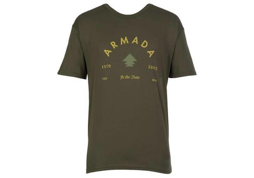 ARMADA ARMADA IN THE TREES TEE-FOREST GREEN