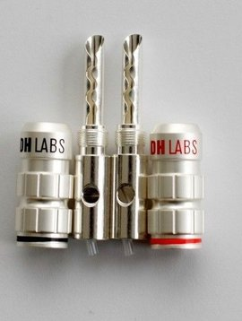 DH Labs DH Labs Z-plug Banana, Silver Plated