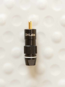 DH Labs DH Labs Machined Coaxial RCA Plug fits D-750, RCA-750