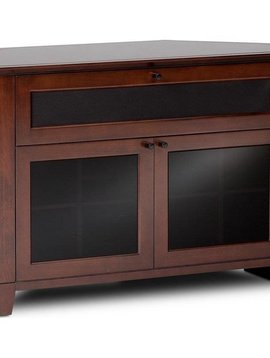 BDI BDI Novia 8421 CO,  Corner TV- Cabinet, Cocoa Stained Cherry