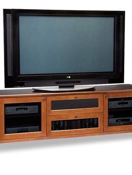 BDI BDI Novia 8429-2 CH, TV- Cabinet, Natural Stained Cherry