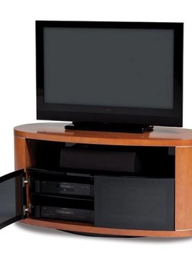 BDI Revo 9981 CH, Swiveling TV- Cabinet, Natural Stained Cherry