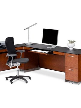 "BDI BDI Sequel 6001 CH, 60"" Desk, Natural Stained Cherry"