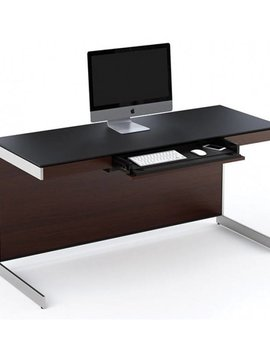 "BDI BDI Sequel 6001 CWL, 60"" Desk, Chocolate Stained Walnut"