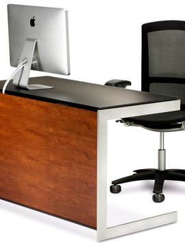 BDI BDI Sequel 6003 CH, Compact Desk ( back panel not included ) Natural Stained Cherry