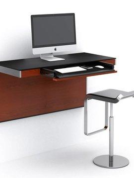 BDI BDI Sequel 6004 CWL, Wall Desk, Chocolate  Stained Walnut