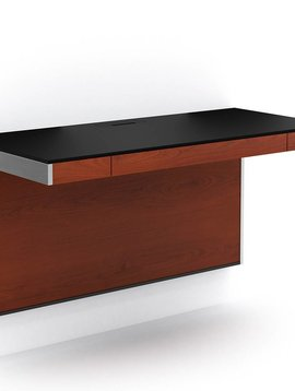BDI BDI Sequel 6004 CH, Wall Desk, Natural Stained Cherry