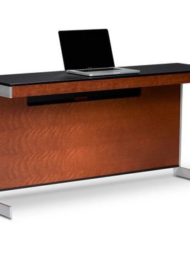 BDI BDI Sequel 6008 CH, Compact Desk Back Panel, Natural Stained Cherry
