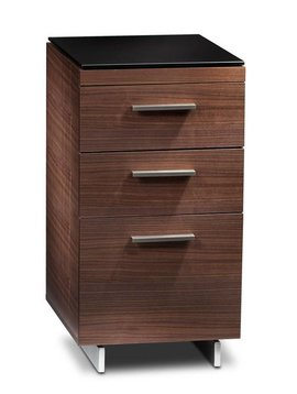 BDI BDI Sequel 6014 WL, Three Drawer Cabinet, Natural Walnut
