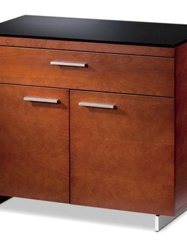 BDI BDI Sequel 6015 CH, Storage Cabinet, Natural Stained Cherry
