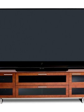 BDI Avion 8929 CH, 4 Component Wide TV-Cabinet, Natural Stained Cherry