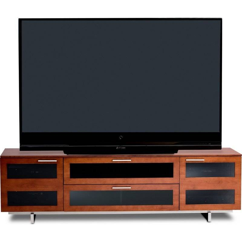 Charmant BDI Avion 8929 CH, 4 Component Wide TV Cabinet, Natural Stained Cherry