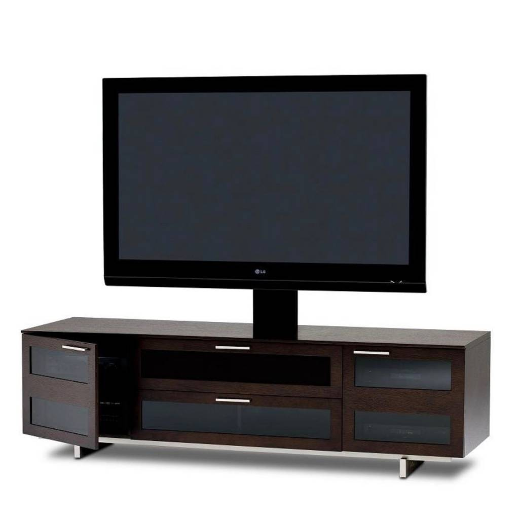 BDI Avion 8929 ES, 4 Component Wide TV Cabinet, Espresso Stained Oak