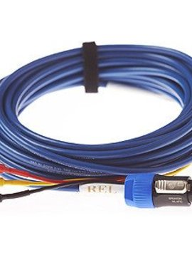 REL Acoustics Baseline Blue 3 Meter Hi Level Cable