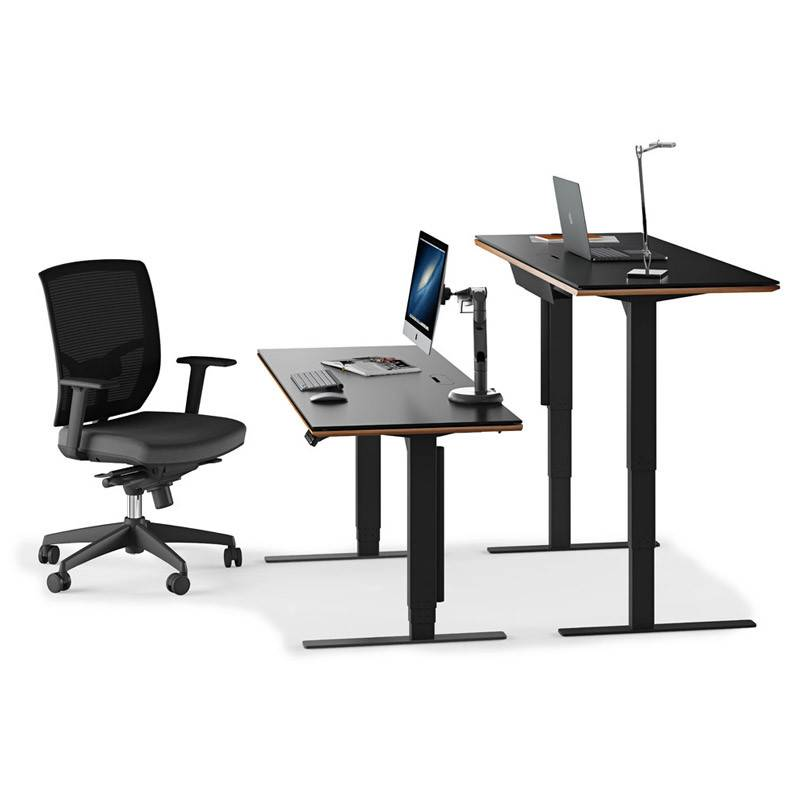 Bdi Sequel Lift Desk 6052 Natural Stained Cherry