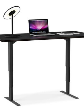BDI Sequel Lift Desk 6052, Espresso Stained Oak
