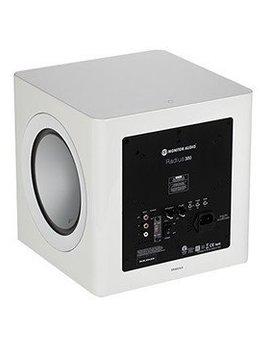 Monitor Audio Radius R-380 200 Watt Subwoofer, White Lacquer