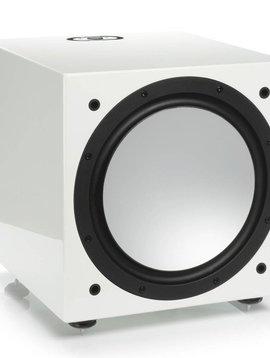 Monitor Audio Silver W-12 Subwoofer, Piano White Lacquer