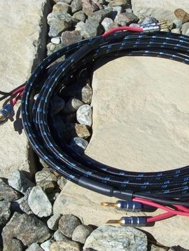 DH Labs Q-10 Signature Speaker Cable, 6' Pre-terminated Bi-wire with Z-Plugs