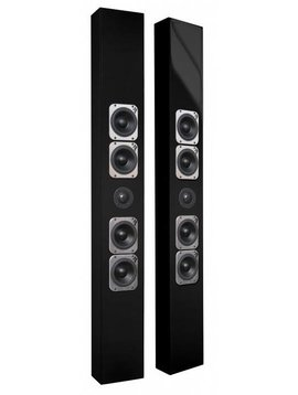Totem Acoustic Tribe V, Each, Glossy Black