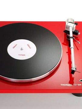 Thorens TD 206, Gloss Red
