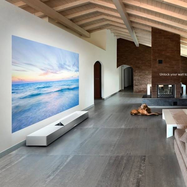 Sony Lspxw1s Ultra Short Throw Projector White Audio