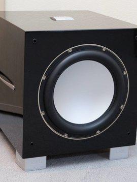 REL Acoustics S/5 Subwoofer, Piano Black Lacquer