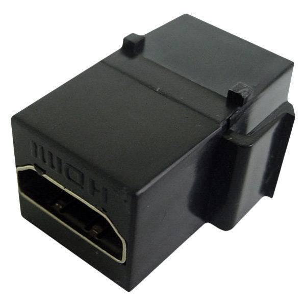 Calrad HDMI Keystone Feed-thru, 1080P, Black