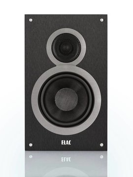 Elac Debut DB61 Bookshelf Speakers, Black