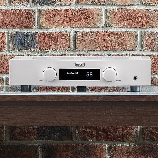 Hegel Röst, Integrated Amplifier, White