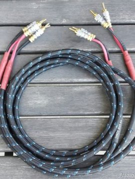 DH Labs Q-10 Signature 8' Pre-terminated Speaker Cables with Z-Plugs