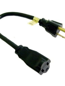 Calrad Calrad 1' AC Power Extension Cord