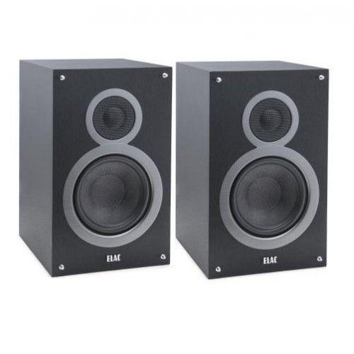 Elac Debut DB51 Bookshelf Speakers, Black