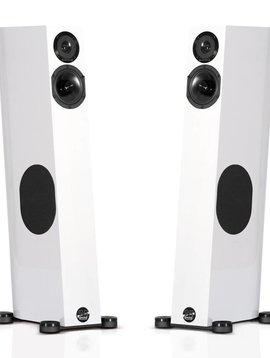 Audio Physic Tempo Plus ( Black & White High Gloss, Ebony Wood )