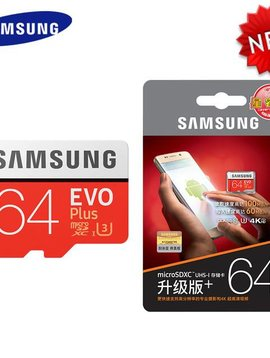 Samsung Electronics EVO Plus 256 GB micro SDXC UHS-I Card with SD Adapter