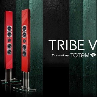 Totem Acoustic Tribe V, Fire Red, Sold Each, Showroom Demo Speakers