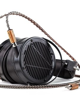 Kimber Kable Axios CU in Gaboon Ebony Wood for Focal Utopia Headphones