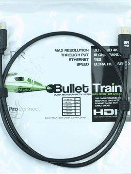 AV ProConnect Bullet Train Ultra HD 4K 60Hz 18Gbps HDMI Jumper Cable