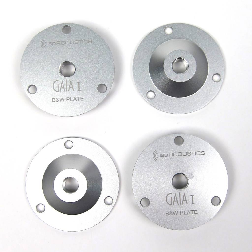 IsoAcoustics GAIA B&W Mounting Plates (Pack of 4)